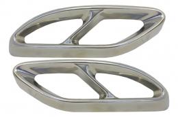 Muffler Tips suitable for MERCEDES Benz C-Class W205 C-Class S65 E65 GLE W166 X166 GLC W253 Sport A-Design - MTMBAMG