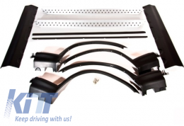Off Road Aerodynamic Side Steps/Running Boards and Wheel Arches BMW X5 E53 - RBBMX5E53