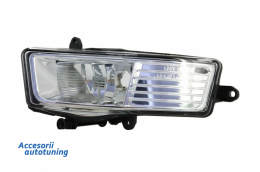 ONE PIECE - Fog Light Projector Left Side suitable for AUDI A6 4F 2008-2010 Clear Lens - 1027089