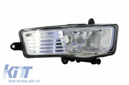 ONE PIECE - Fog Light Projector Right Side suitable for AUDI A6 4F 2008-2010 Clear Lens - FLA64FR/1027088
