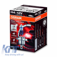 OSRAM NIGHT BREAKER UNLIMITED H4 Halogen Headlamp 12V 60/55W - 64193NBL-01B