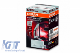 OSRAM XENARC NIGHT BREAKER UNLIMITED D1S HID Xenon Lamp 66140XNB 35W - 66140XNB