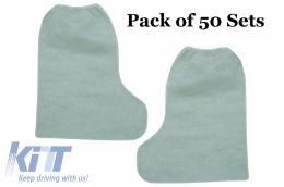 Pack of 50 sets Tall Boots 100% POLYPROPYLENE - BTSTTNTTGH