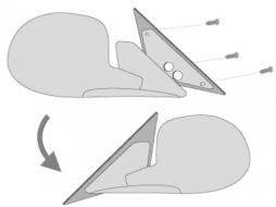 PEUGEOT 407 04+ Adapterplates - A347