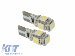 Position Lights LED 5 smd CanBus - T105SMDLED