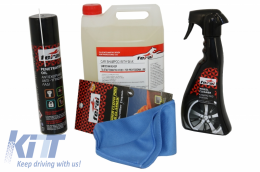 Premium Car Motorbikes Kit Cleaning / Maintenance Auto / Moto Exterior - COCPE