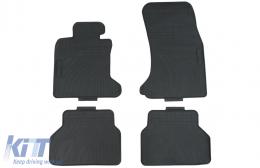 Premium Tenzo-R Floor Mat Rubber Black suitable for BMW 5 Series E60 Limousine E61 Touring (2003-2010) - 38036