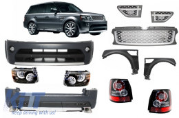 Range Rover Sport (2005-2010) L320 Complete Conversion Retrofit Autobiography Design Body Kit - COCBRRS