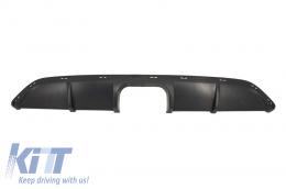 Rear Air Diffuser Aperture Spoiler Valance suitable for SMART ForTwo 451 Facelift (2012-2015) B Design - RDSM01