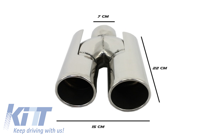 Rear Bumper Bmw 5 Series E39 1995 2003 Double Outlet M5 Design With Pdc Exhaust Muffler Tips