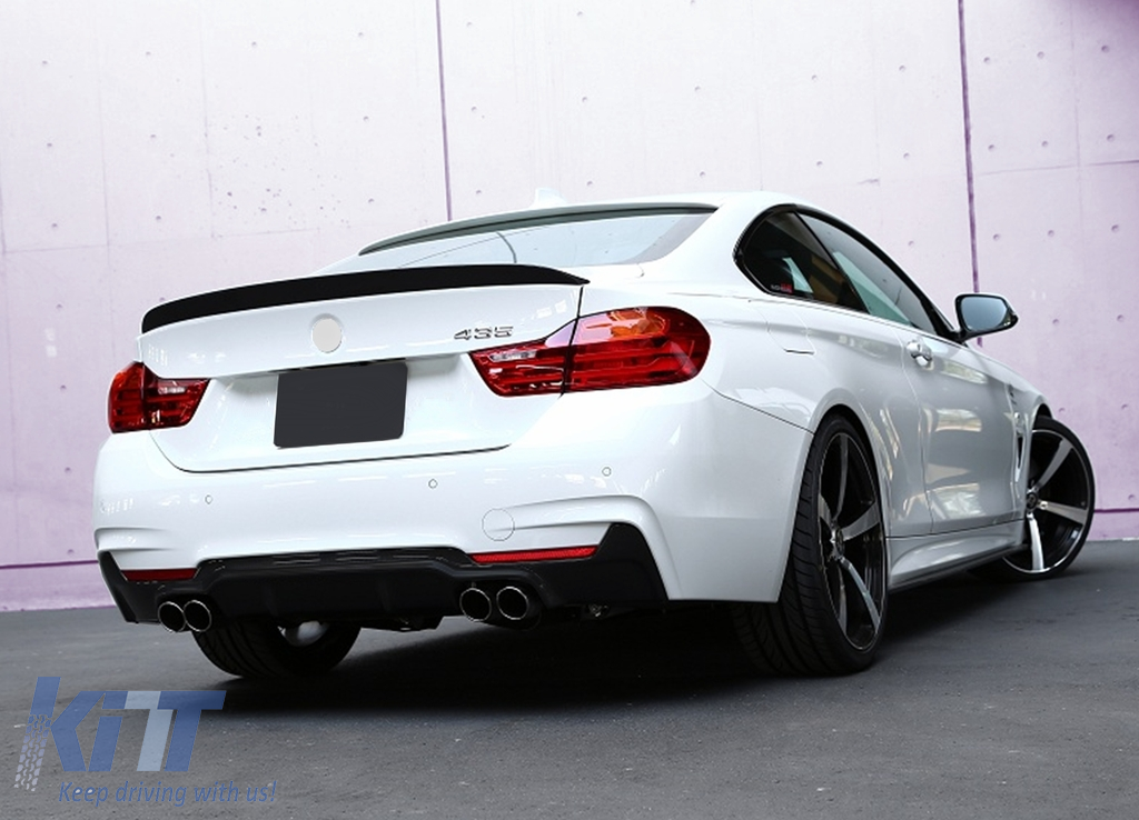 rear bumper diffuser bmw f32 f33 f36 2013 coupe cabrio. Black Bedroom Furniture Sets. Home Design Ideas