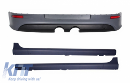 Rear Bumper Extension Side Skirts suitable for VW Golf V 2003-2008 GTI R32 Look