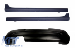 Rear Bumper Extension Side Skirts suitable for VW Golf 5 V (2003-2007) GTI Edition 30 - CORBVWG5GT