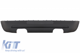 Rear Bumper Extension suitable for VW Golf 5 V (2003-2007) GTI Design With Twin Outlet - RBVWG5GTIDO