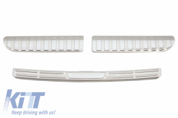 Rear Bumper Protector Sill Plate Foot Plate Aluminum Cover suitable for Range ROVER Sport L494 (L494) (2014-up) - FPRRSL494