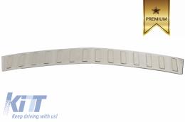 Rear Bumper Protector Sill Plate Foot Plate Aluminum Cover Mercedes-Benz GLK (X204) (2010-2016) - FPMBX204
