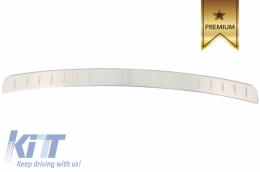 Rear Bumper Protector Sill Plate Foot Plate Aluminum Cover BMW X6 F16 (2015+) - FPBMF16
