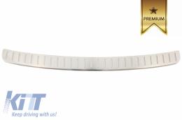 Rear Bumper Protector Sill Plate Foot Plate Aluminum Cover BMW X3 F25 (2011-2017) - FPBMF25