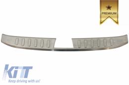 Rear Bumper Protector Sill Plate INNER Foot Plate Aluminum Cover suitable for BMW X1 E84 non LCI (2009-2012) - FPIBME84