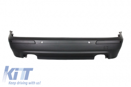 Rear Bumper suitable for BMW 5 Series  E39 (1995-2003) Double Outlet M5 Design with PDC - RBBME39M5DOP