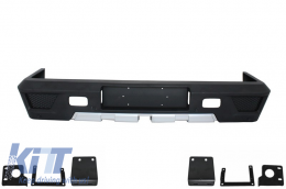 Rear Bumper suitable for MERCEDES Benz W463 G-Class (1989-2017) G63 G65 AMG Design - RBMBW463AMG