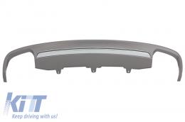 Rear Bumper Valance Diffuser A6 4G (2012-2015) S6 Design - RDAUA64GS6