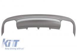 Rear Bumper Valance Diffuser suitable for AUDI A5 8T 4 Doors Sportback (2012-2015) S5 Design - RDAUA58TS54DF