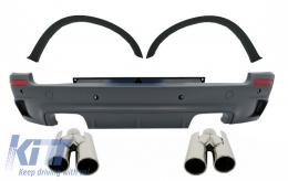 Rear Bumper Wheel Arches Exhaust Muffler Tips ACS suitable for BMW X5 E70 (2007-2013) X5M M-Design - CORBBME70E174
