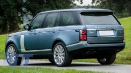 Rear Bumper with Exhaust Pipe suitable for Range ROVER Vogue IV (L405) (2013-2017) - RBRRL405SVA