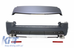 Rear Bumper with Roof Spoiler suitable for Land Rover Range Rover Sport L320 (2010-2013) Autobiography Design