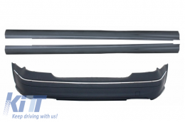 Rear Bumper with Side Skirts suitable for Mercedes E-Class W211 (2003-2009)