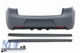 Rear Bumper without PDC Side Skirts Volkswagen Golf VI Mk6 2008+ R20 Design - CORBVWG6R20SS