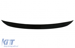 Rear Roof Spoiler suitable for Mercedes GLC X253 SUV (2015-up) Black - TSMBGLCX253S