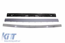 Rear Trunk Tailgate Kit Chrome suitable for Range ROVER Sport L320 (2005-2011) 2012 Facelift Autobiography Look - TTRRSL320C
