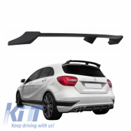 Roof Boot Lid Spoiler Mercedes Benz W176 A-Class (2012-up) AMG B Style - TSMBW176B