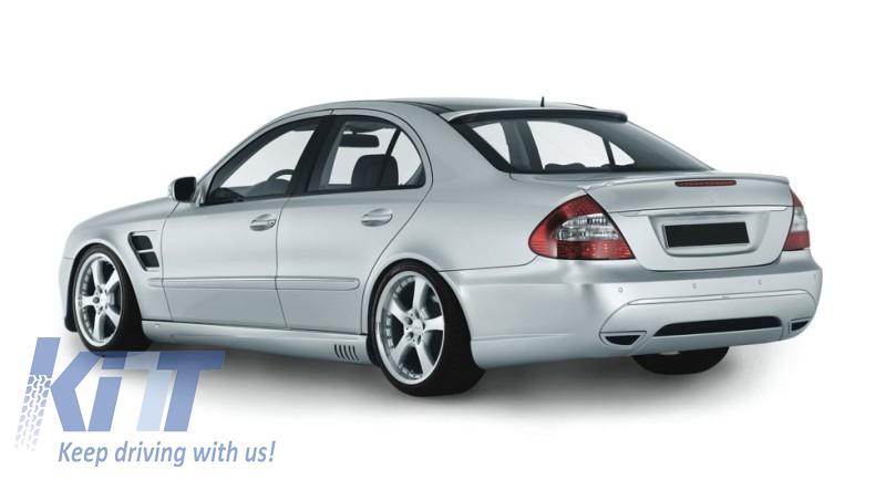 Roof spoiler mercedes w211 e class facelift 2007 2009 l for Mercedes benz 2007 e350 parts