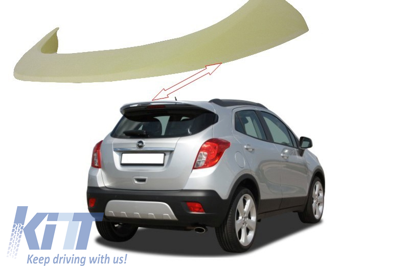 roof spoiler opel mokka 2012 up. Black Bedroom Furniture Sets. Home Design Ideas