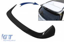 Roof Spoiler Wing suitable for BMW X1 SUV F48 Pre-LCI (06.2015-2019) AC Style Piano Black - RSBMF48AC