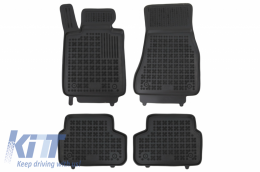 Rubber Car Floor Mats suitable for BMW Series 5 G30 Sedan 2017+ - 200726