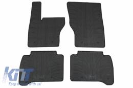 Rubber Car Floor Mats suitable for Range ROVER Sport L494 (2013-2017) Black - GL0522