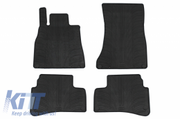 Rubber car mats suitable for Mercedes S-Class W222 (09.2013-) - GL0503