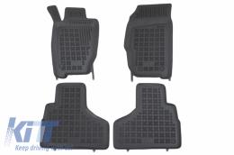 Rubber Floor mat black suitable for JEEP CHEROKEE KJ (2004-2008), LIBERTY (2004-2008) - 203104