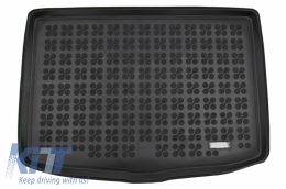 Rubber Trunk Mat Black suitable for Nissan Juke (2014-2019) - 231039