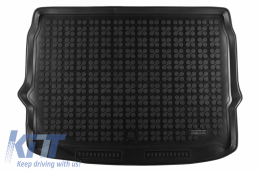 Rubber Trunk Mat Black suitable for Nissan QASHQAI II J11 (2014-2017) - 231034