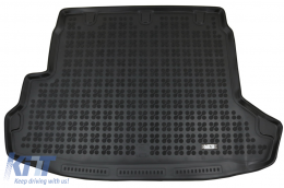 Rubber Trunk Mat Black suitable for Nissan X-TRAIL II T31 (2008-2013) - 231025