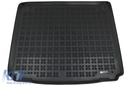 Rubber Trunk Mat Black suitable for Peugeot 407 Sedan (2004-2011) - 231216