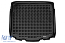 Rubber Trunk Mat Black suitable for Toyota Corolla XII (E210) TS (2018-Up) Station Wagon - 231773