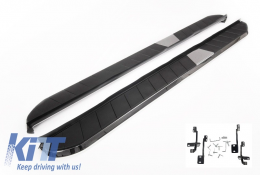 Running Boards Land Rover Range Rover Evoque Pure and Prestige Side Steps (2011-up) - RBTRR03P