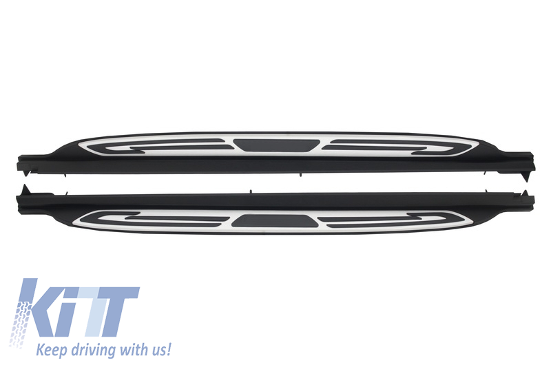 Deployed Side Steps For Range Rover Genuine Accessory: Running Boards Land Rover Range Rover Evoque Dynamic