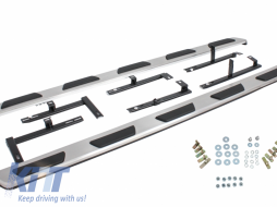 Running boards Side Steps Audi Q7 (4L) (2006-2015) - RBA01OE